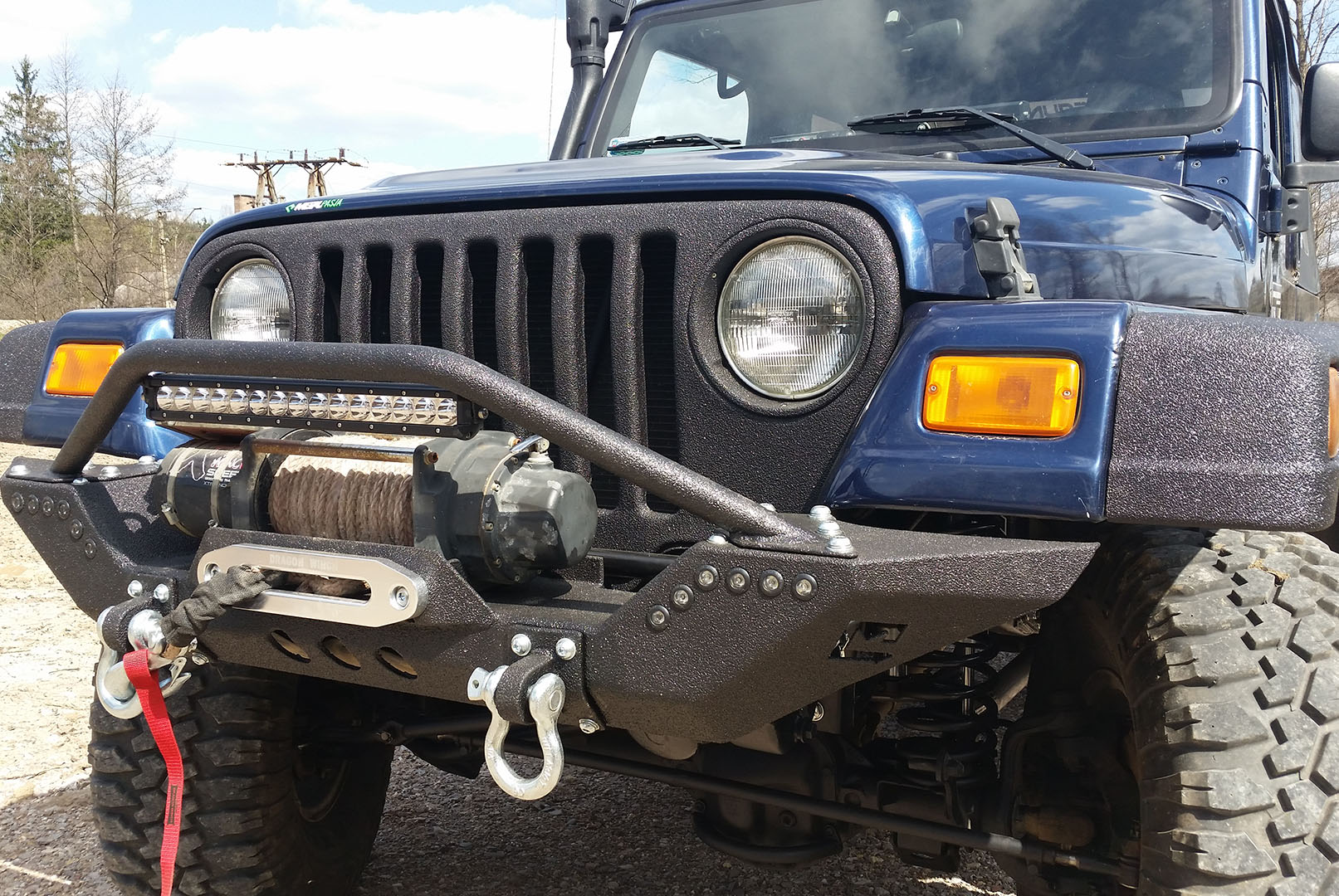 Jeep Wrangler TJ Off Road