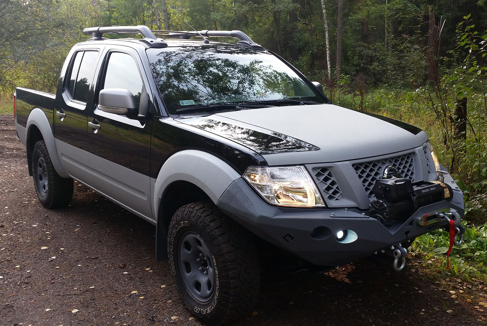Nissan Navara D40 Off road