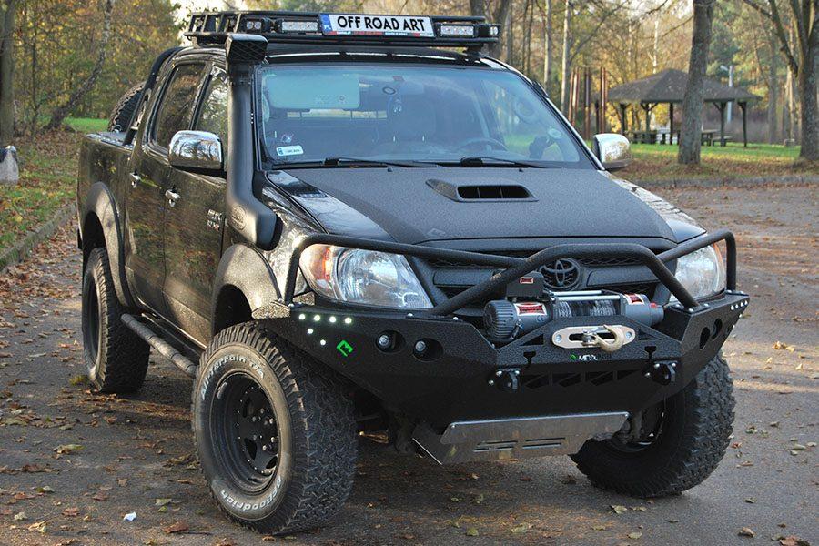 Toyota Hilux na wyprawy