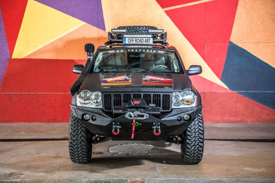 Jeep Grand Cherokee WK lift 4
