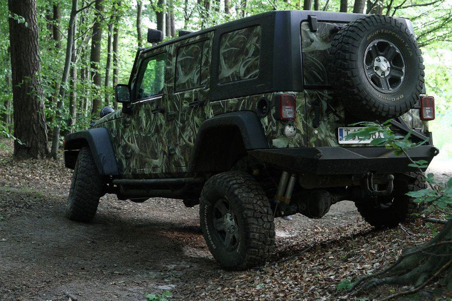 Zderzak tylny Huntsman Jeep Wrangler JK