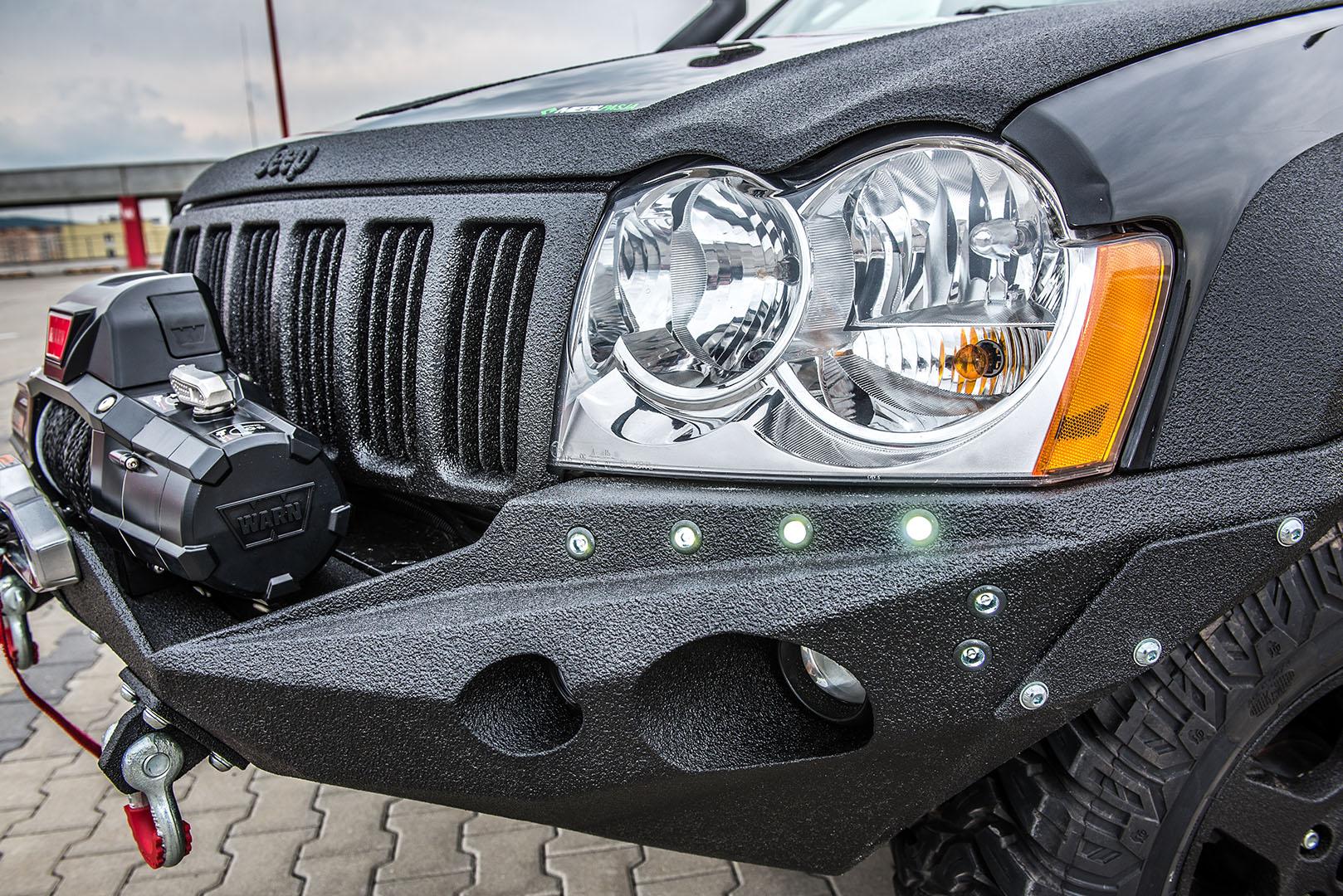 Zderzak przedni Diamond Duke Jeep Grand Cherokee WK-WH