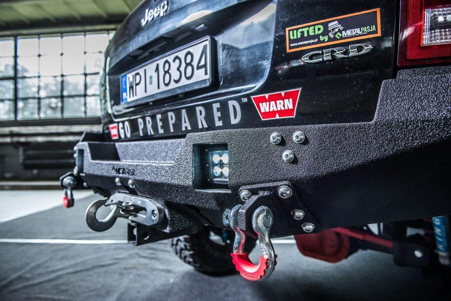 Zderzak tylny Dark Duke Jeep Grand Cherokee WK-WH
