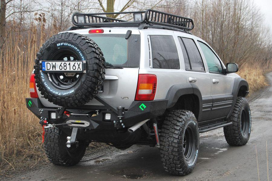 Zderzak tylny Backfire Jeep Grand CHerokee WJ-WG