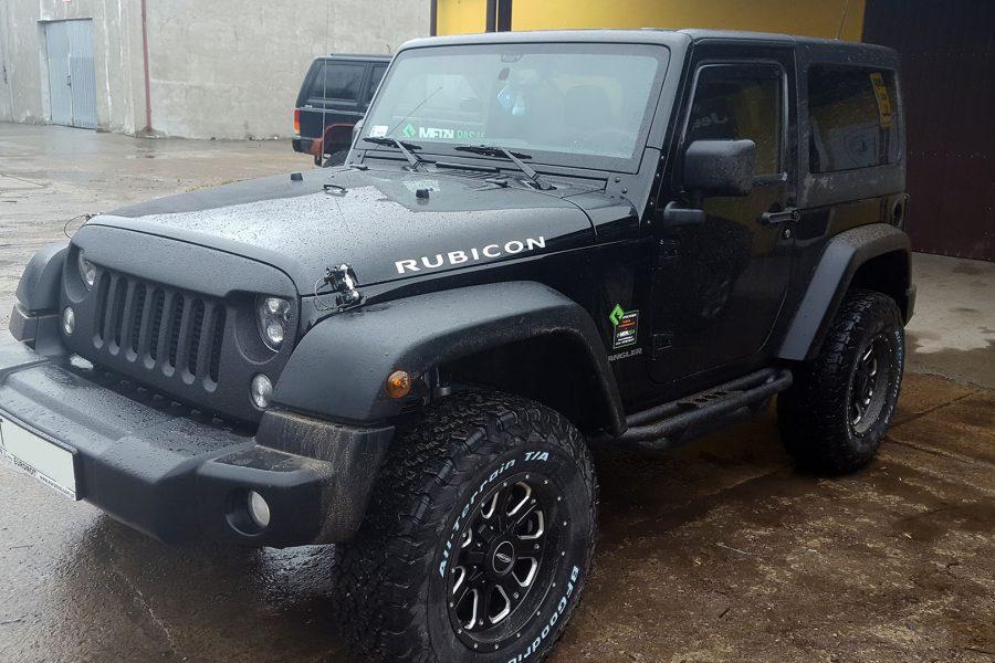 Jeep Wrangler JK – modyfikacje off road