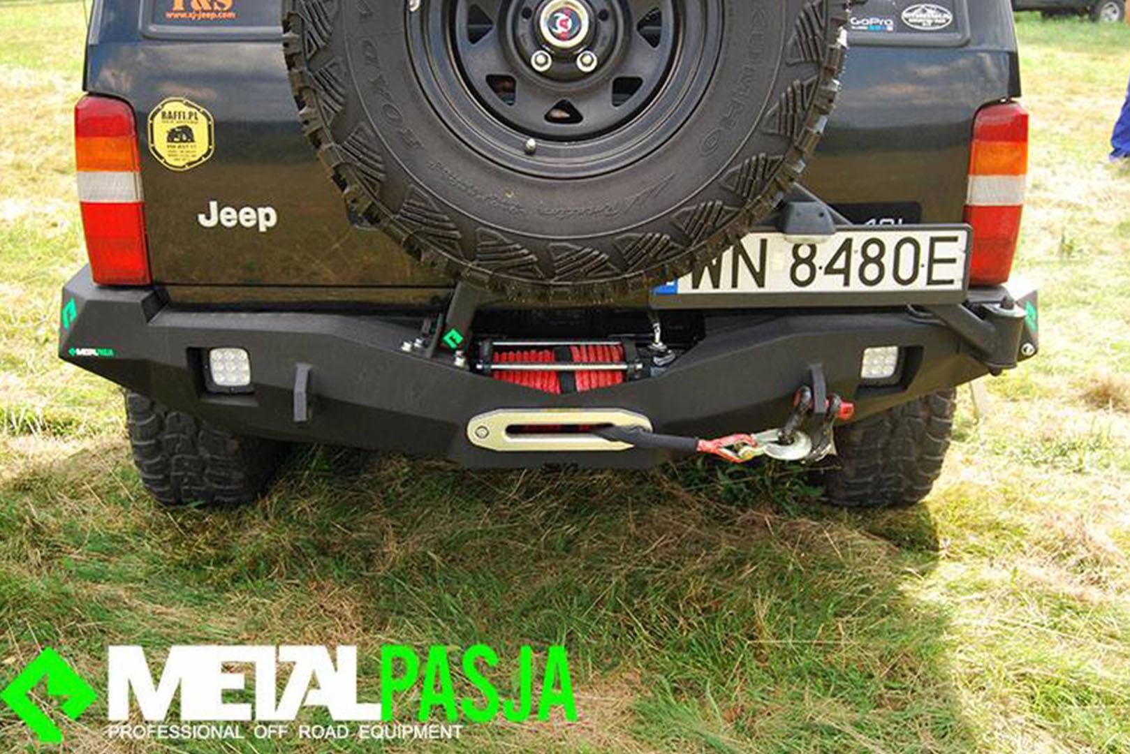 """Zderzak tylny Jeep XJ """"Tripman"""""""
