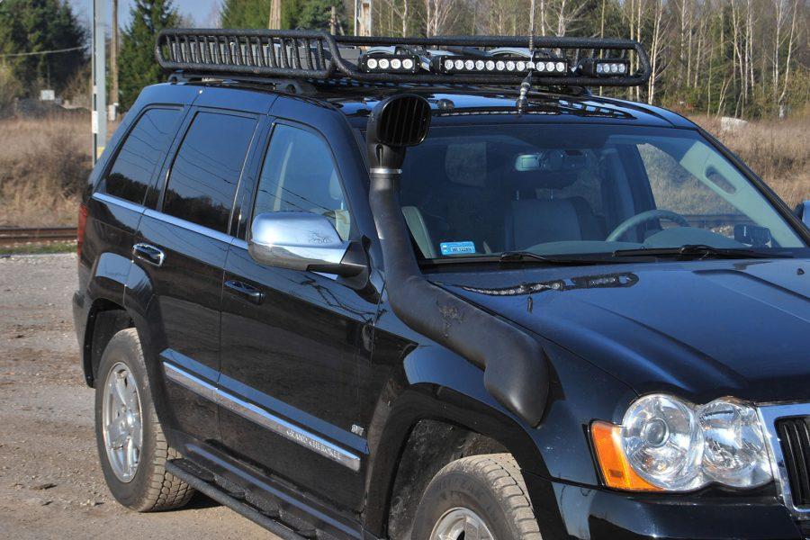 Jeep Grand Cherokee na wyprawy off road – Projekt Viking