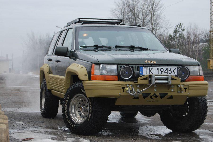 Projekt Sahara – modyfikacje off road Jeep Grand Cherokee ZJ