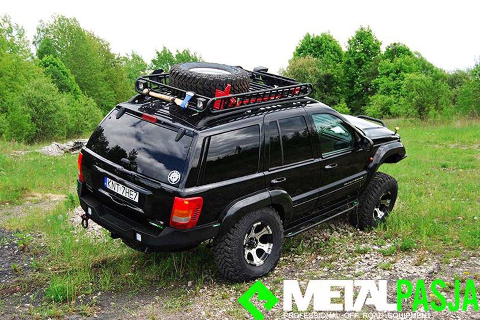 2016 Jeep Grand Cherokee Off Road >> Metalpasja Innowacyjne doposażenia offroad | Jeep Grand Cherokee WJ Off Road