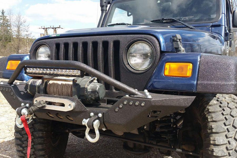 Zderzak przedni off road Jeep Wrangler TJ