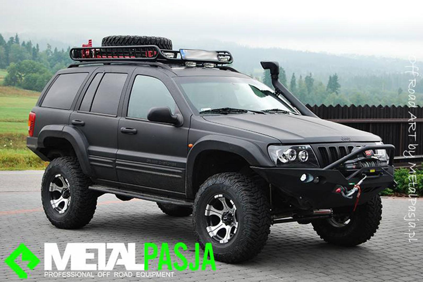 Wonderful Jeep Grand Cherokee Off Road U003eu003e Metalpasja Innowacyjne Doposażenia Offroad  | Jeep Grand Cherokee WJ