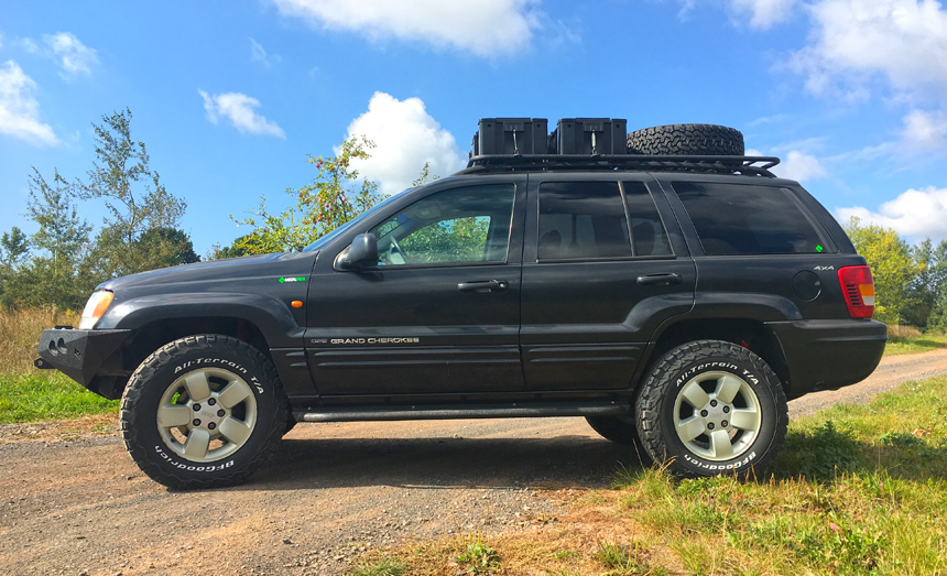 jeep wj off road