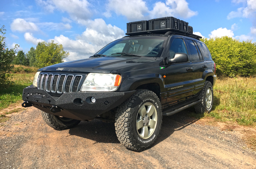 off roadowy Jeep WJ