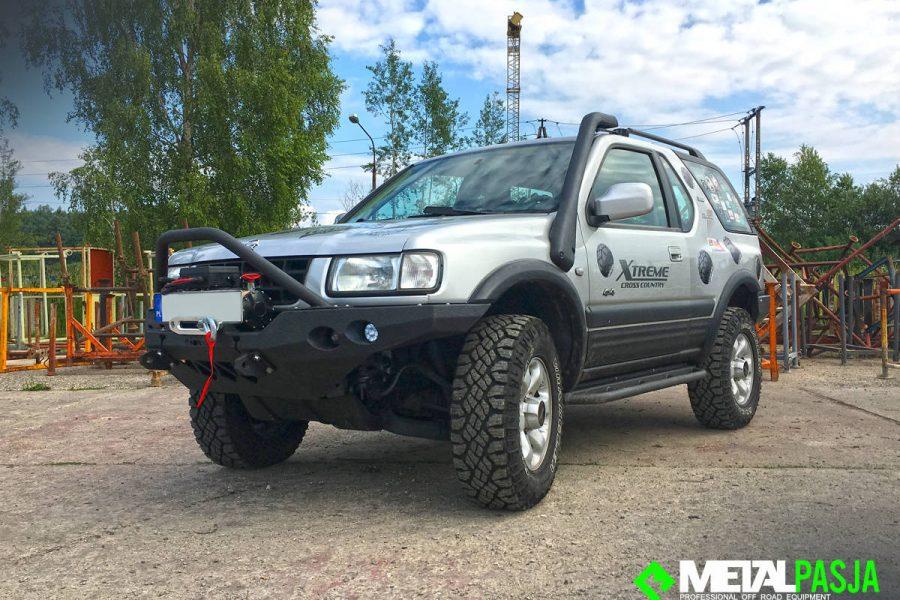 Opel Frontera stalowe zderzaki – modyfikacja Off Road