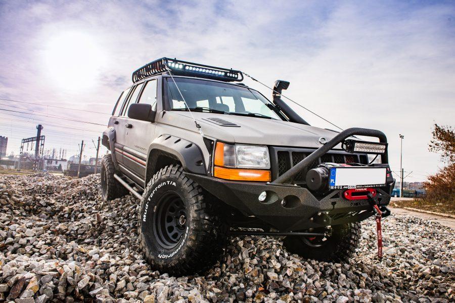 Jeep Grand Cherokee ZJ 5.9 LX – modyfikacje off road
